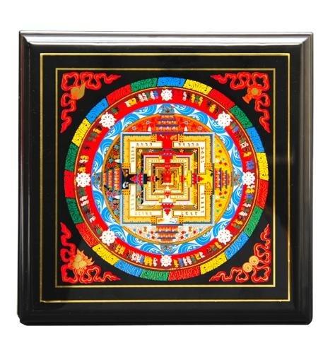 Kalachakra mandala feng shui obraz luxusn d rky for Cuadros mandalas feng shui decoracion mandalas